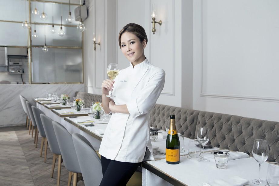 Vicky Lau Veuve Clicquot Asias Best Female Chef 2015